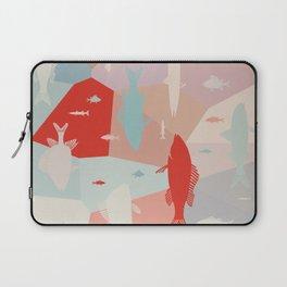 California Pastel Fish Laptop Sleeve
