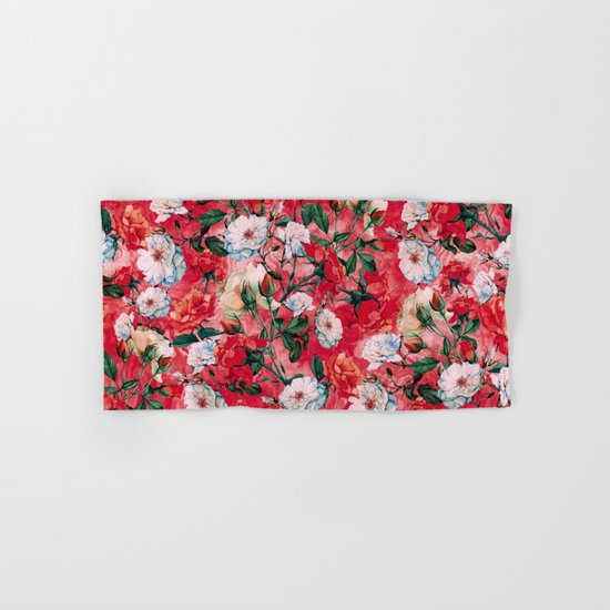 Rose Red Hand & Bath Towel