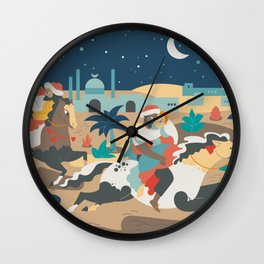 The abduction from the Seraglio Wall Clock