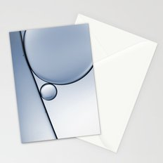 oil and water abstract I Stationery Cards