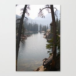 saddleback lake Canvas Print