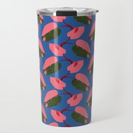 Rare Houseplant Philodendron Pink Princess Travel Mug