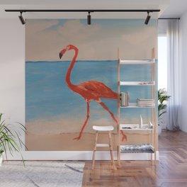 love flamingo Wall Mural