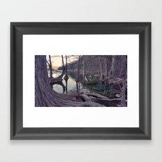Autumn Frio River 2 Framed Art Print