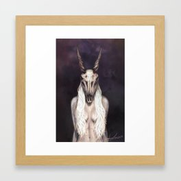 Take the Eland by the Horns Framed Art Print