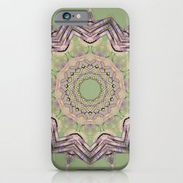 Green and great Kaleid by LH iPhone Case
