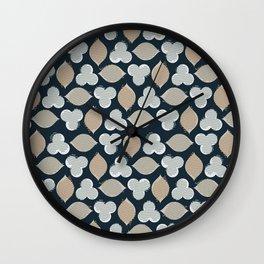 Lavandula Wall Clock