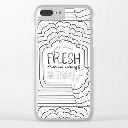 Fresh New Ways – Grey Clear iPhone Case