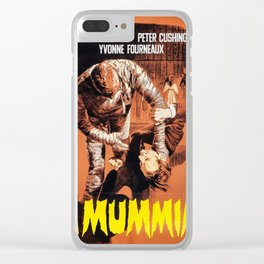 La mummia Clear iPhone Case