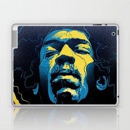 Gabz Jimi Hendrix Voodoo Child Poster Release From Dark Hall Mansion Laptop & iPad Skin