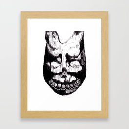 Donnie Darko Frank Framed Art Print