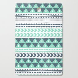 Winter Stripe Cutting Board