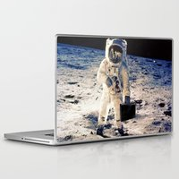 lawyer Laptop & iPad Skins featuring Astronaut lawyer  by rivercbishop