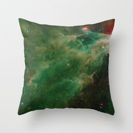 1588. Pluto in True Color The Cave Nebula in Infrared from Spitzer  Throw Pillow