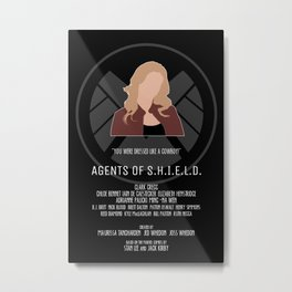 Agents of S.H.I.E.L.D. - Bobbi Metal Print