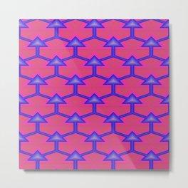 Pattern Factory 619-2B Metal Print