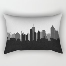 City Skylines: Atlanta (Alternative) Rectangular Pillow