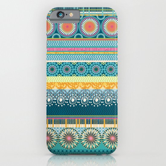 Blue Streaks iPhone & iPod Case