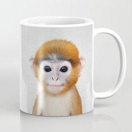 Baby Monkey - Colorful Coffee Mug