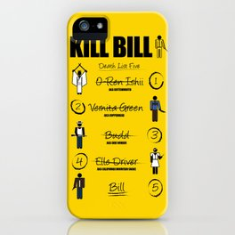 Death List Five iPhone Case