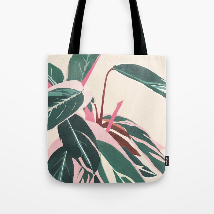 Stromanthe Sanquinea Tote Bag