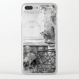 old memorial Clear iPhone Case