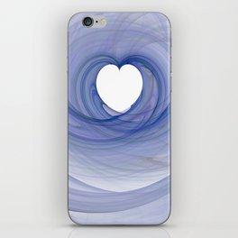 Valentine's Fractal III - Light iPhone Skin
