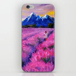 LAVANDER DREAMS iPhone Skin