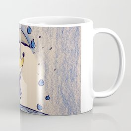 Fox in Rain Coffee Mug