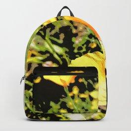 Hana Collection - California Poppy Backpack