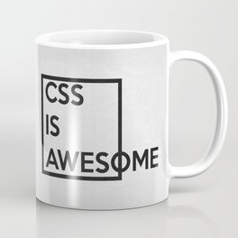 CSS is Awesome Coffee Mug