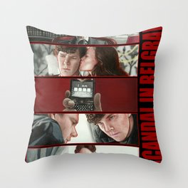 A Scandal in Belgravia Throw Pillow