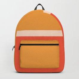 Golden Summer Color Block Backpack