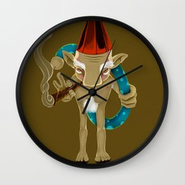EL CURUPÍ Wall Clock
