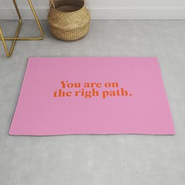 You are on the righ path Rug