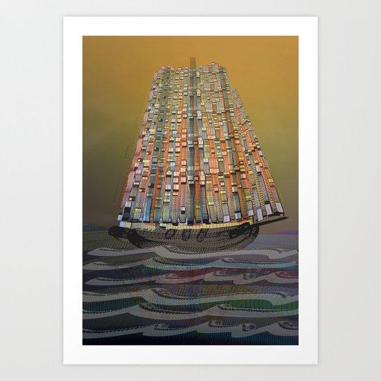 Atlante 14•5•16 Art Print