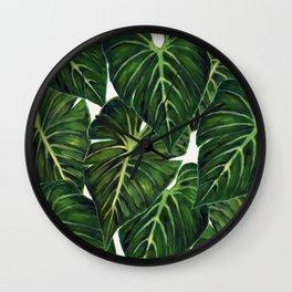 Tropical II Wall Clock