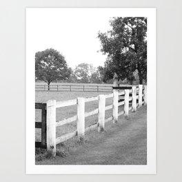 Farmhouse Charm Art Print