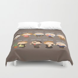 science for nerds  Duvet Cover