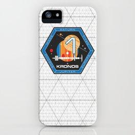 Kronos 1 Official Mission Emblem iPhone Case
