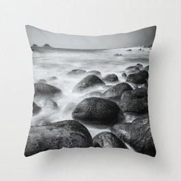 Cot Valley Beach II Throw Pillow