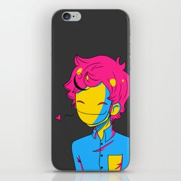 Pansexual Pride Cry iPhone Skin