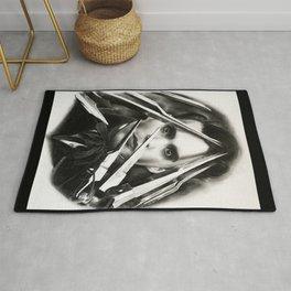 Edward Scissorhands Rug
