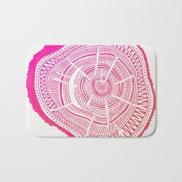 Ponderosa Pine – Pink Ombré Palette Bath Mat