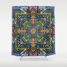 Consciousness Squared Shower Curtain