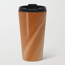 Blurred Sepia Wave Trajectory Travel Mug