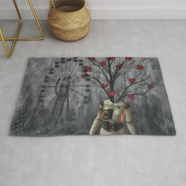 Love sprouts Rug