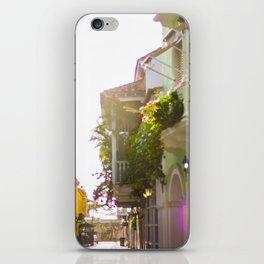 Streets of Cartagena iPhone Skin