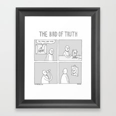 Moonbeard - The Bird of Truth Framed Art Print