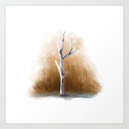 Watercolor Tree Art Print